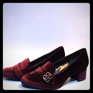 Maroon/Red Loafers by Bandolino
